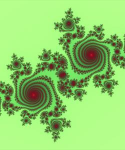 Нарушение условия Коши-Римана на комплексной плоскости